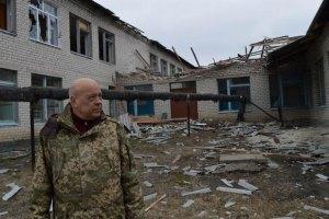 Москаль опубликовал фотографии разбомбленного Троицкого