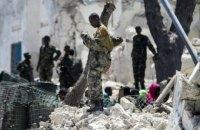 При взрыве здания ООН в Сомали пострадали охранники