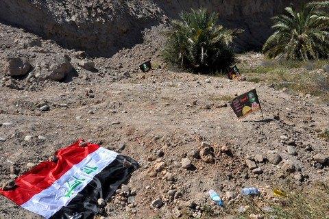 ЗаустроеннуюИГ наавиабазе резню вИраке казнили неменее 30 боевиков