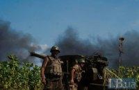 Силы АТО за сутки 25 раз вступали в бой с террористами