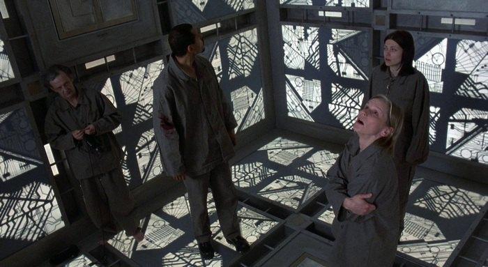 """Кадр из фильма """"Куб"""""""