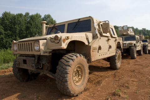 Украина подписала контракт о модернизации внедорожников Humvee