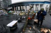 Митингующие открыли проезд по Грушевского и освободили четыре ОГА