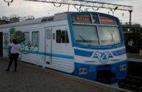 В Киеве возобновила работу городская электричка
