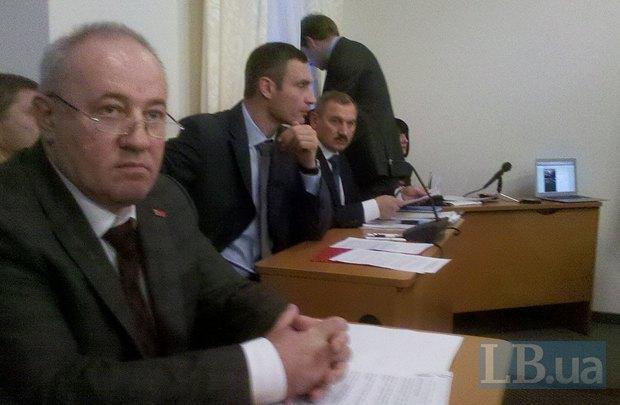 Виталий Кличко на заседании комитета