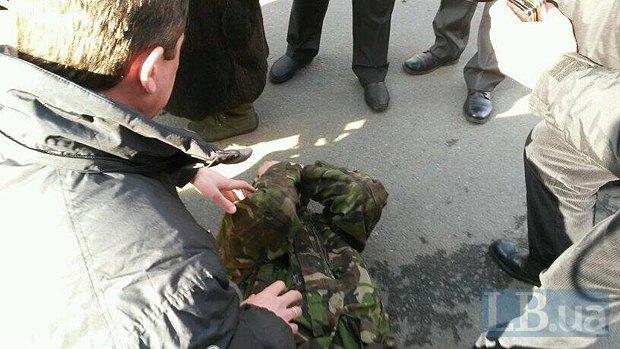 На Липской массовые аресты демонстрантов (фото)