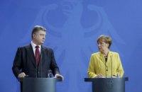 Порошенко поедет к Меркель 13 мая