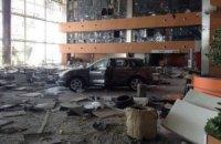 От аэропорта Донецка остались разрушенные терминалы и сгоревшая техника