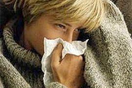 """Ученые: От """"свиного гриппа"""" защищает насморк"""