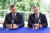 Янукович и Коморовский договорились о новой встрече