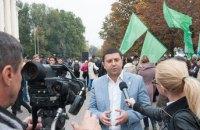 В Запорожье политики перессорились за право возглавить митинг