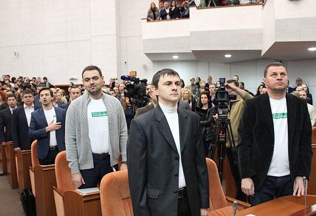 Нардепи <<Самопомочі>> в Дніпропетровській облраді