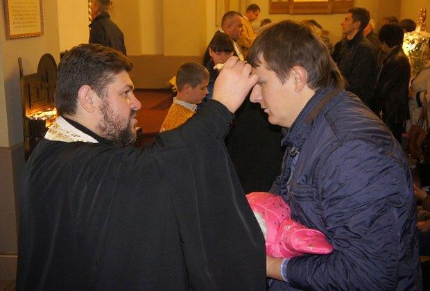 Під час служби у Львові в литопаді 2014 р.