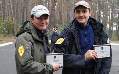 Руслан Лужевский(справа) и Александр Анищенко