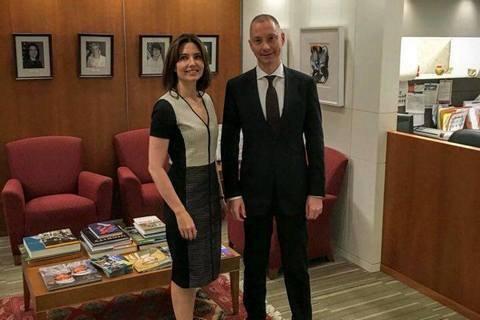 Глава администрации Порошенко встретился с помощником госсекретаря США