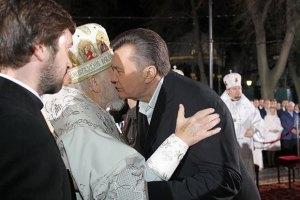 Из-за Януковича в Лавру пускали через турникеты