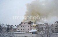 В Ужгороде горело СИЗО (обновлено)