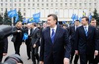 Електоральна стеля Януковича – 36 відсотків
