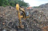 Во Львове неизвестные заблокировали пункт, с которого мусор везут в Киев