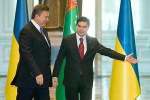 Янукович инициирует конференцию по энергетике в Ашхабаде