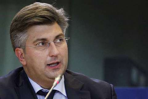 Порошенко обсудил экономическое сотрудничество сновым премьером Хорватии