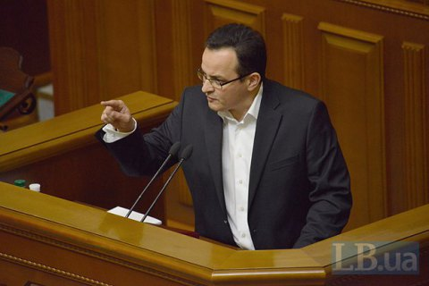 """Глава фракции """"Самопомощь"""" счел силовиков виновными в теракте у Рады"""