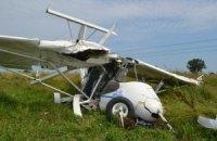 Возле Львова упал двухместный самолет, погиб пилот