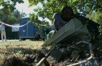 Под Киевом автомобиль, перевернувшись, протаранил забор санатория