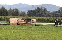 В Словении потерпел крушение воздушный шар