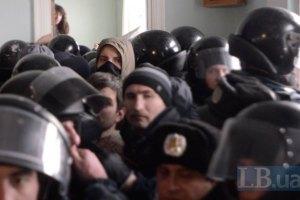 В Киеве избили троих националистов