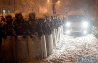 В Киеве правоохранители перекрыли движение по улице Прорезной