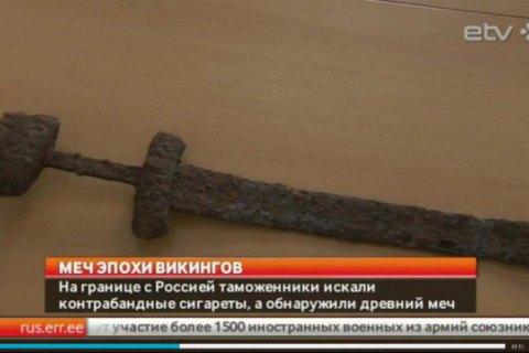Найденный на Волыни меч викингов контрабандой оказался в Эстонии