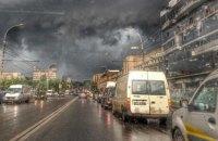 На Кишинев обрушилась стихия