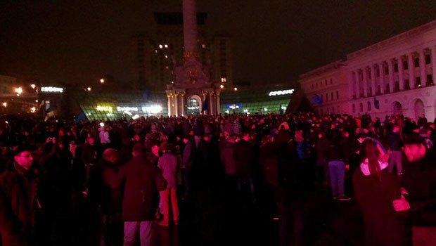 Майдан в 24:00