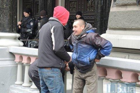 ОБСЕ: Митингующим под НБУ выплачивают по10 долларов