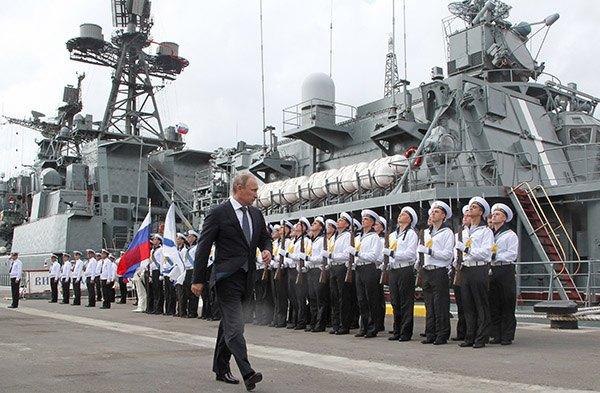 Путин в Новороссйиске