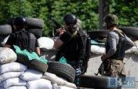 Боевики штурмовали блокпост у Славянска, 6 военных получили ранения (обновлено)
