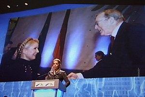 Дочь Тимошенко попросила ЕС о европерспективе и санкциях
