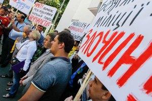 Захарченко ищет бойцов, которые избивают активистов в Киеве
