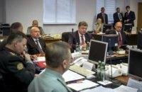 Порошенко провел заседание с силовиками