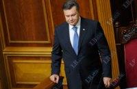 Януковича и Пшонку освистали в Раде