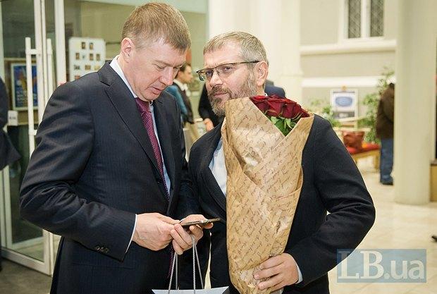 Сергей Ларин и Александр Вилкул