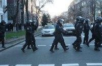 В Киев привлечены региональные части внутренних войск