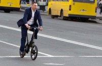 Кличко задекларировал семь велосипедов