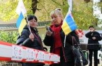 Возле колонии Тимошенко начали ремонт дороги