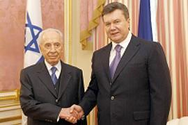 "Янукович встретится ""тет-а-тет"" с Президентом Израиля"