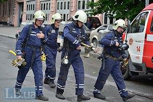 В здании киевского главка полиции на Владимирской произошел пожар (обновлено)