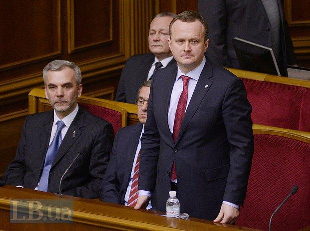 Остап Семерак(справа) и Олег Мусий
