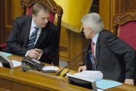 Литвин поблагодарил Лавриновича за замену