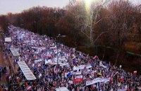 В Польше прошла многотысячная акция в поддержку Валенсы